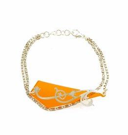 Armband zweepslag & driehoek