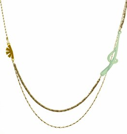Multiple necklace tune note