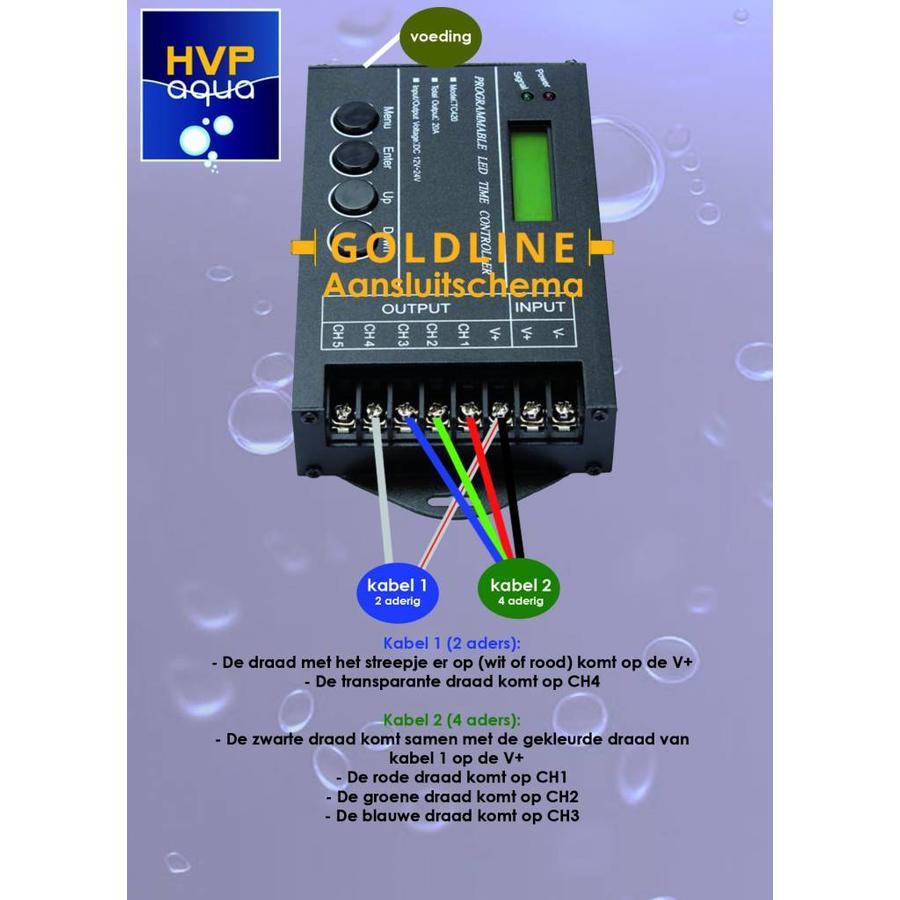 5 kanaals controller Programmeerbaar Aquarium LED-2