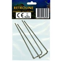 thumb-Rimless mounting brackets for RetroLINE-2