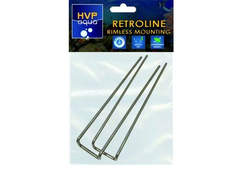 Rimless montage beugels tbv RetroLINE