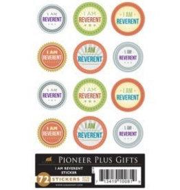 I am reverent stickers