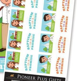 Baptism is a promise stickers