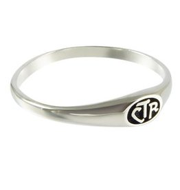 CTR, Micro Mini Antiqued Sterling Silver
