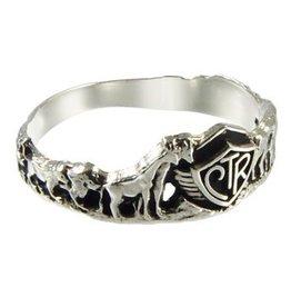 CTR, Noah's Ark Antiqued Sterling Silver