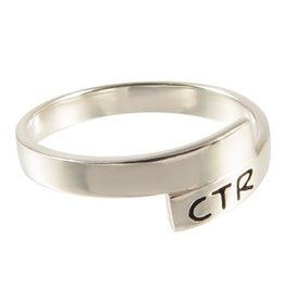 CTR, Orbit Antiqued Sterling Silver