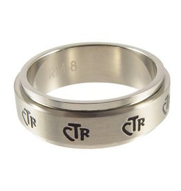 CTR, Spinner Narrow Band Stainless Steel