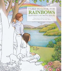 I Like to Look for Rainbows Baptism Coloring Book, Beth Whitaker and Nita Dale Milner