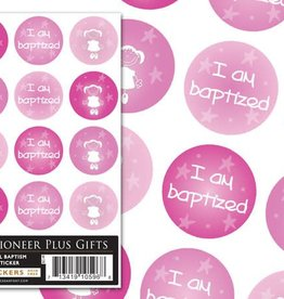 Girl Baptism stickers
