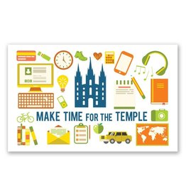 Make Time for the Temple , Recommend Holder
