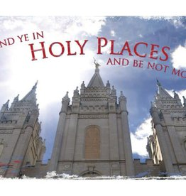Stand Ye In Holy Places - Youth Recommend Holder