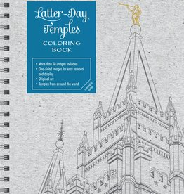 Latter-day Temples Colouring Book, Conlin