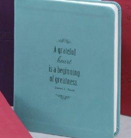 A Grateful Heart Light. Aqua