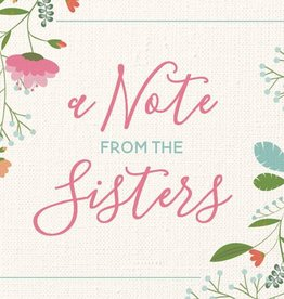 A Note From The Sisters (Card Pack) by Milestone Greetings