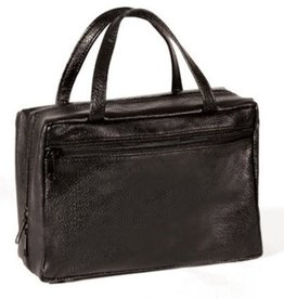 Avery Faux Leather Large Black