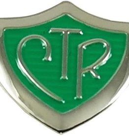 CTR Green Shield Tie Pin