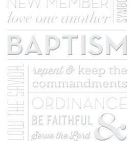 Baptism Greeting Card by Milestone Greetings