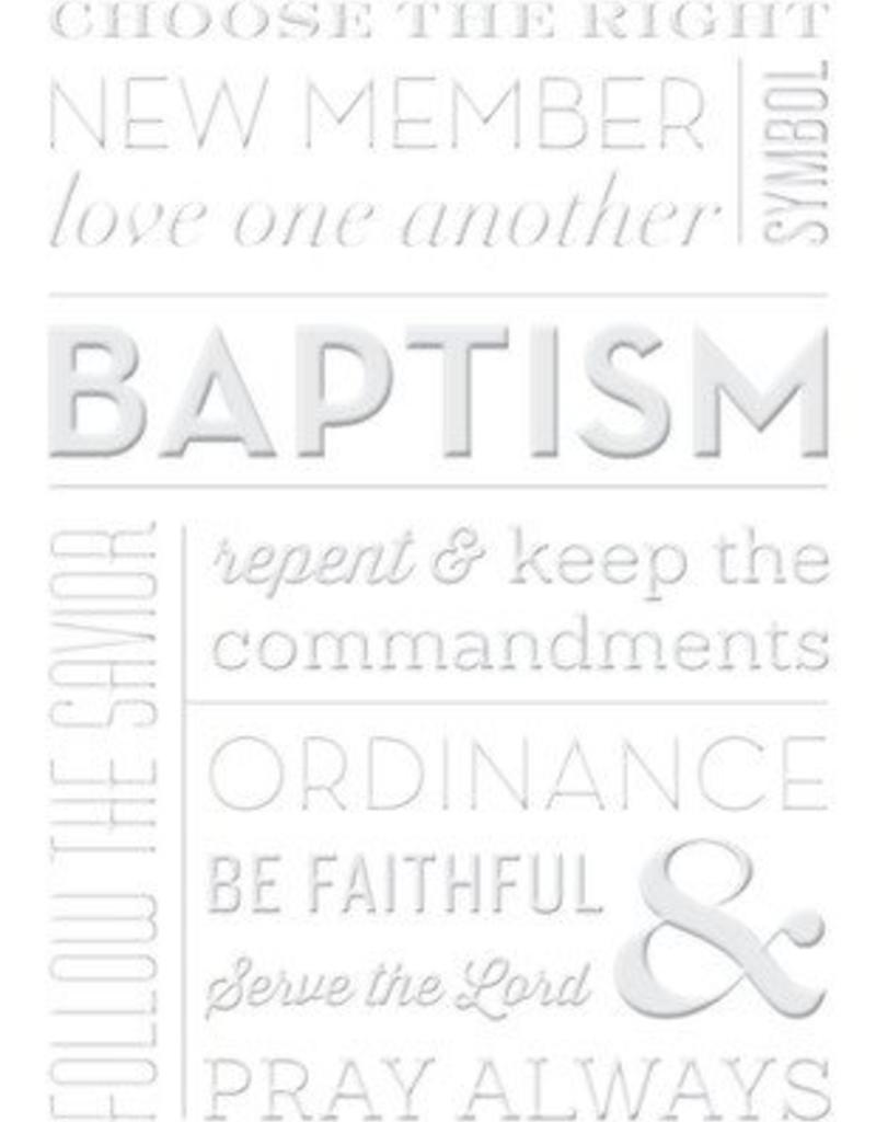 Baptism Greeting Card By Milestone Greetings Ldsbookuk