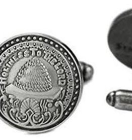 Holiness To The Lord Silver Cufflinks