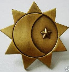 Three Degrees of Glory Pin