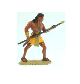 "3""Figure. Stripling warrior, Yellow"