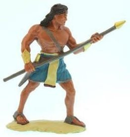 "3""Figure. Stripling warrior, Blue."