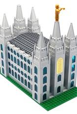 "Brick'em Young Small Salt Lake Temple, Brick'em Young, 10"" high."