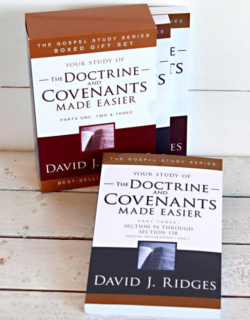 Your study of The Doctrine and Covenants Made Easier, Box set, David J Ridges