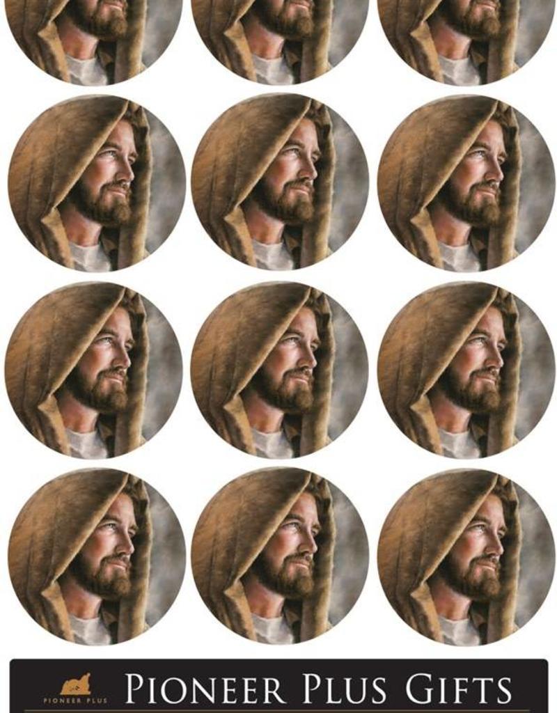 Guardian (David Bowman) Stickers - Small Round