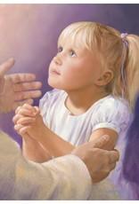 A Child's Prayer, Jay Bryant Ward, 11x14 mat
