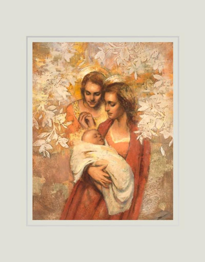 Angels Round About Thee, Annie Henrie, Nader, 11x14 mat