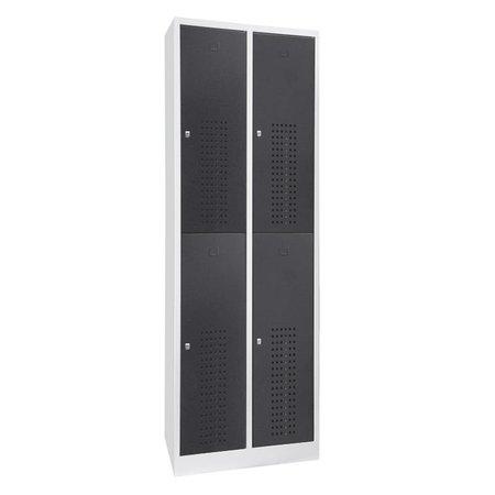 Inofec Garderobekast Premium 4-deurs