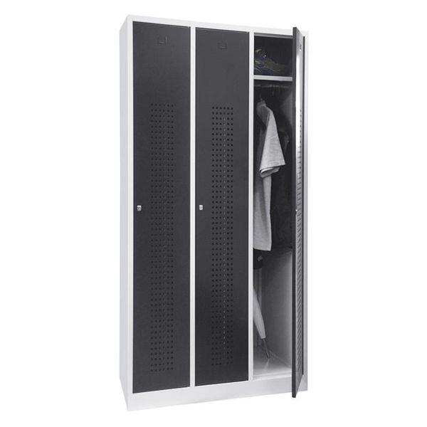 Garderobekast Premium 3-deurs