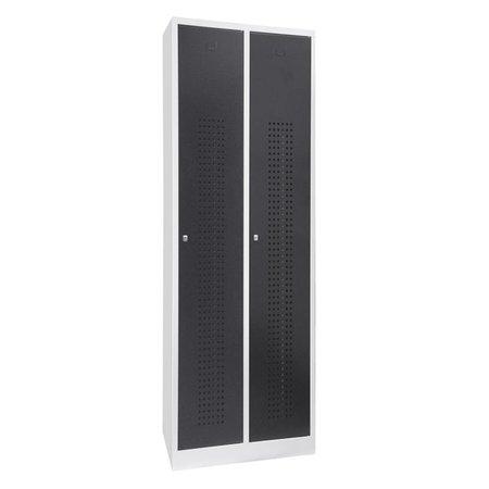 Garderobekast Premium 2-deurs