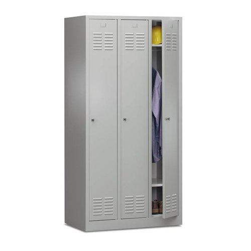 Garderobekast Basic 3-deurs