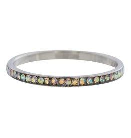iXXXi Jewelry IXXXI Jewelry Vulring Zirconia AB Cristal Zilverkleurig 2 mm