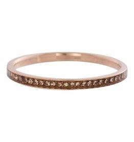iXXXi Jewelry IXXXI Jewelry Vulring Zirconia Champagne Rose 2 mm