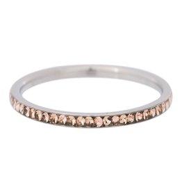 iXXXi Jewelry IXXXI Jewelry Vulring Zirconia Gold Quartz Zilverkleurig 2 mm