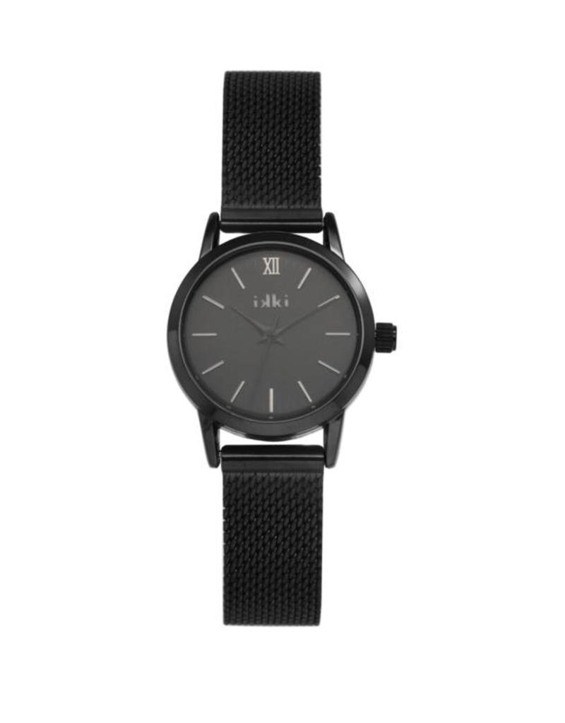iKKi Horloges iKKi Zia ZA06 Zwart Horloge