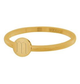 iXXXi Jewelry IXXXI vulring Alphabet 2 mm maat 18