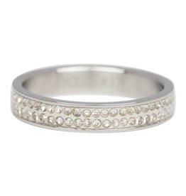 iXXXi Jewelry IXXXI Jewelry Vulring Double Zirconia 4 mm