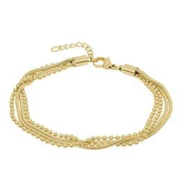 iXXXi Jewelry iXXXi Jewelry Ankle Strap Snake Ball Slim 4pcs