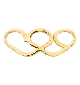 iXXXi Jewelry iXXXi JEWELRY IJBA11-1 STRUGGLED HEARTS