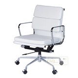 Stoelen merk Desk chair white leather