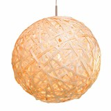 HKLiving Lamp rond Hout
