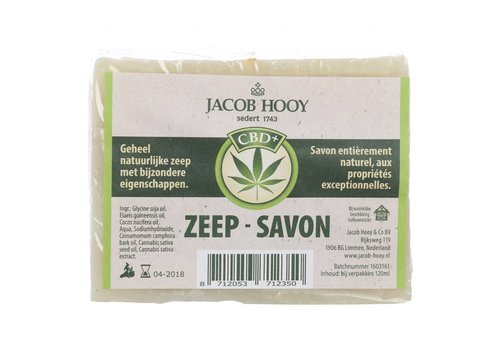 Jacob Hooy CBD zeep 120 ml - Jacob Hooy