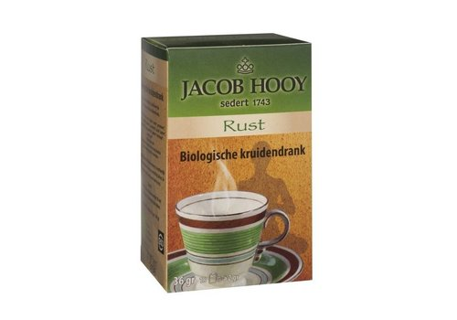 Jacob Hooy Bio thee Rust 18 zakjes - Jacob Hooy