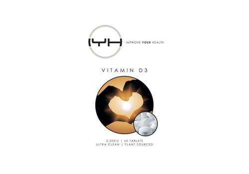 Improve Your Health Vitamine D3 2.500IU 60 vegan tabs - Improve Your Health