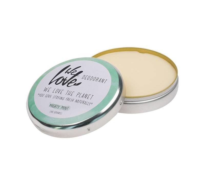 Natuurlijk deodorant 48 gram - We Love The Planet - Mighty Mint