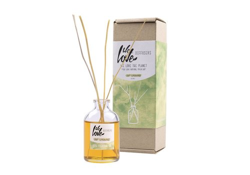 We love the planet Geur diffuser 50ml - We Love The Planet - Light Lemongrass